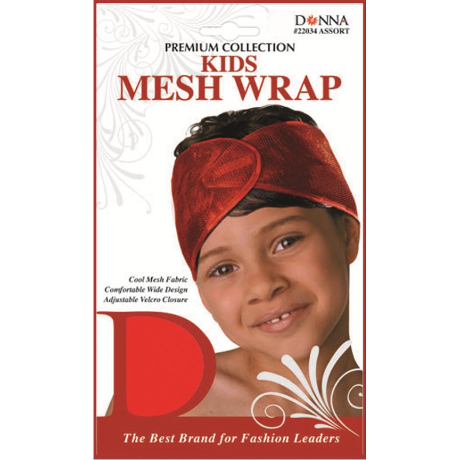 Kids Mesh Wrap Asst Color